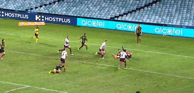 Rd 9: Rabbitohs v Sea Eagles - Try 22nd minute - Curtis Sironen