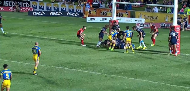Rd 9: Cowboys v Eels - No Try 5th minute