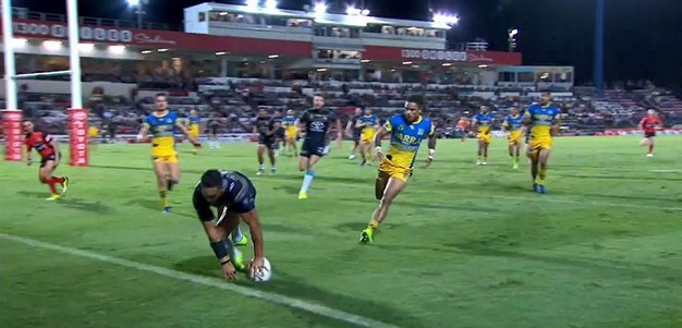 Rd 9: Cowboys v Eels - Try 64th minute - Antonio Winterstein