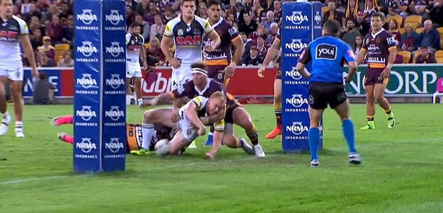 Rd 9: Broncos v Panthers - No Try 5th minute - Peter Wallace