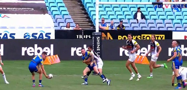 Rd 8: Eels v Panthers - No Try 25th minute - Robert Jennings