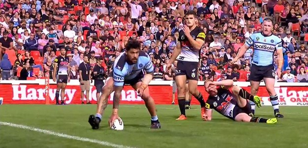 Rd 7: Panthers v Sharks - Try 68th minute - Andrew Fifita