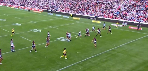 Rd 7: Panthers v Sharks - No Try 22nd minute - Jack Bird