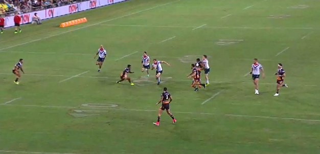 Rd 6: Broncos v Roosters - Try 17th minute - Mitchell Aubusson