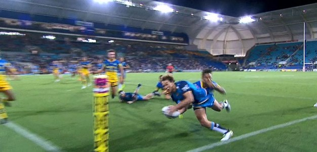 Rd 3: Titans v Eels - No Try 18th minute - Tyler Cornish