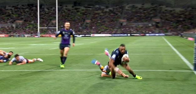 Rd 3: Storm v Broncos - No Try 16th minute - Cooper Cronk