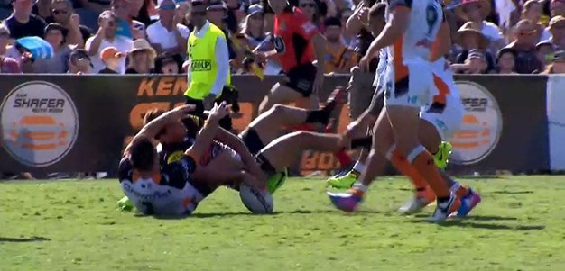 Rd 2: Tigers v Panthers - No Try 20th minute