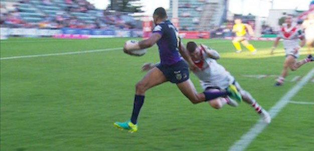 Full Match Replay: St George-Illawarra Dragons v Melbourne Storm (1st Half) - Round 9, 2017