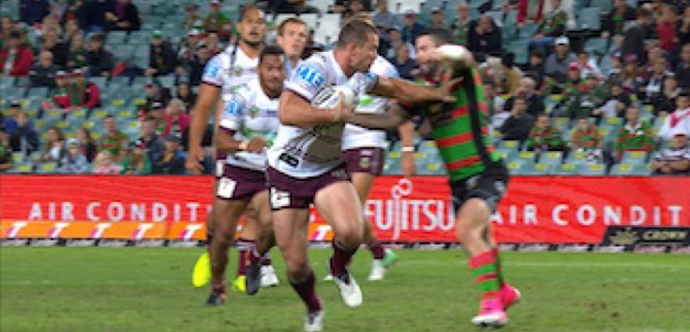 Full Match Replay: South Sydney Rabbitohs v Manly-Warringah Sea Eagles (1st Half) - Round 9, 2017