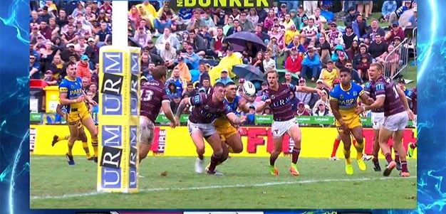 Rd 1: Sea Eagles v Eels - No Try 52nd minute