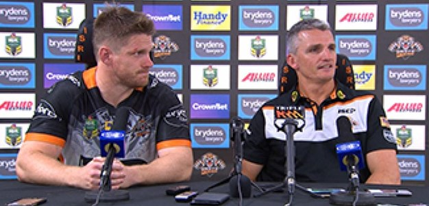Rd 8 Press Conference: Wests Tigers