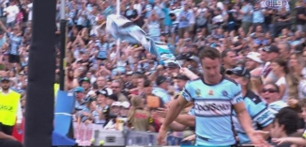 Rd 7: TRY James Maloney (17th min)