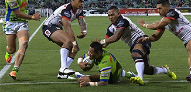 Full Match Replay: Canberra Raiders v Warriors (2nd Half) - Round 7, 2017