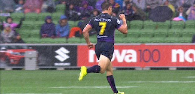Full Match Replay: Melbourne Storm v Cronulla-Sutherland Sharks (1st Half) - Round 6, 2017