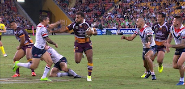 Full Match Replay: Brisbane Broncos v Sydney Roosters (1st Half) - Round 6, 2017