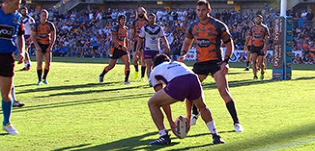 Full Match Replay: Wests Tigers v Melbourne Storm (1st Half) - Round 4, 2017