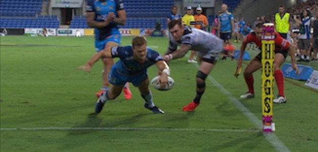 Full Match Replay: Gold Coast Titans v North Queensland Cowboys (1st Half) - Round 4, 2017