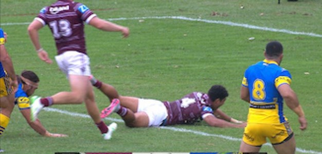 Full Match Replay: Manly-Warringah Sea Eagles v Parramatta Eels (1st Half) - Round 1, 2017