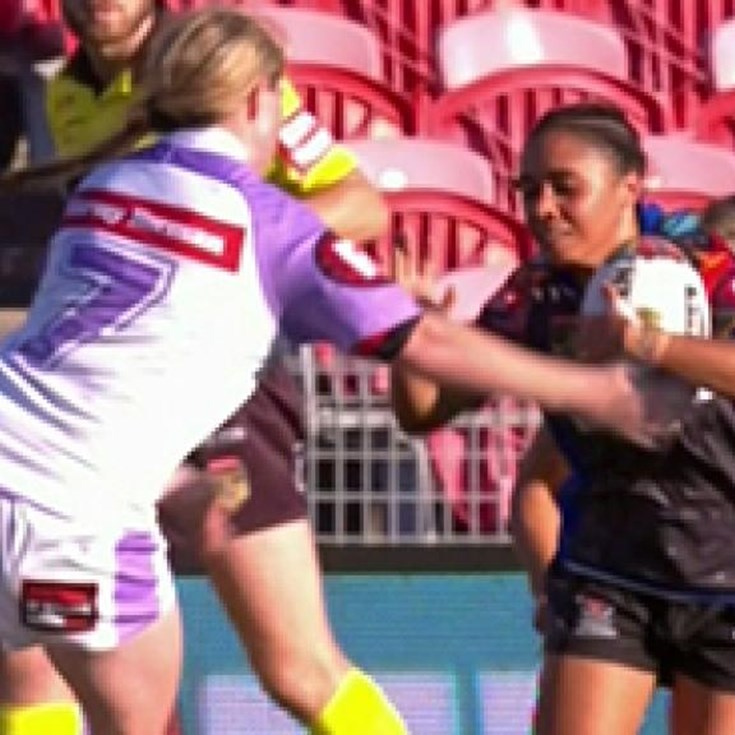 Women's Indigenous All Stars v Women's World All Stars Highlights
