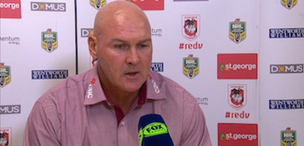 Dragons press conference: Round 2, 2017