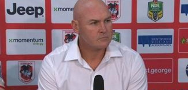 Rd 13 Press Conference: Dragons