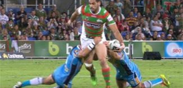 Full Match Replay: Gold Coast Titans v South Sydney Rabbitohs (1st Half) - Round 9, 2014