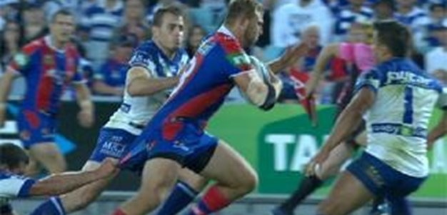 Full Match Replay: Canterbury-Bankstown Bulldogs v Newcastle Knights (2nd Half) - Round 8, 2014