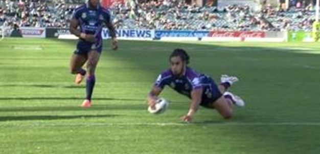 Full Match Replay: Canberra Raiders v Melbourne Storm (1st Half) - Round 7, 2014