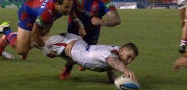 Full Match Replay: Newcastle Knights v St George-Illawarra Dragons (2nd Half) - Round 5, 2015