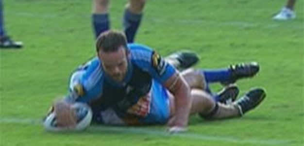 Full Match Replay: Gold Coast Titans v Canterbury-Bankstown Bulldogs (1st Half) - Round 5, 2012
