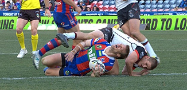 Full Match Replay: Newcastle Knights v Warriors (2nd Half) - Round 22, 2017