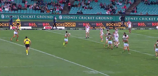 Rd 22: Dragons v Rabbitohs - Try 77th minute - Bryson Goodwin