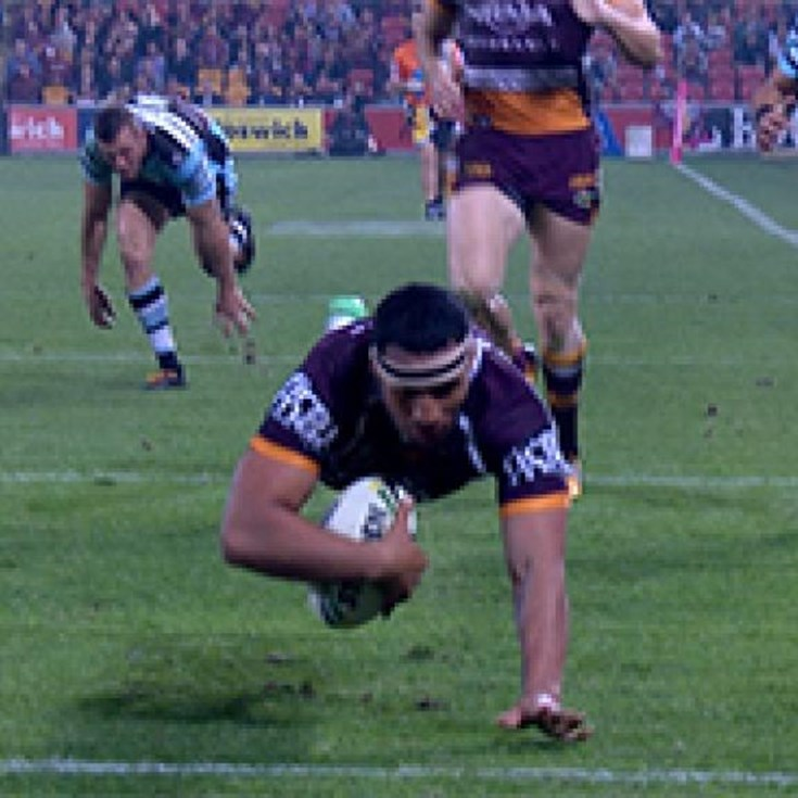 Full Match Replay: Brisbane Broncos v Cronulla-Sutherland Sharks (2nd Half) - Round 23, 2017