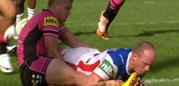 Full Match Replay: Penrith Panthers v Newcastle Knights (1st Half) - Round 1, 2014