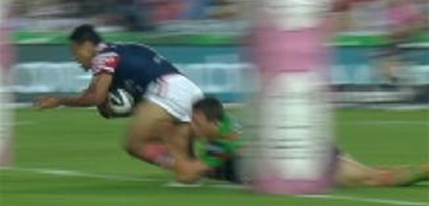 Full Match Replay: South Sydney Rabbitohs v Sydney Roosters (1st Half) - Round 1, 2014