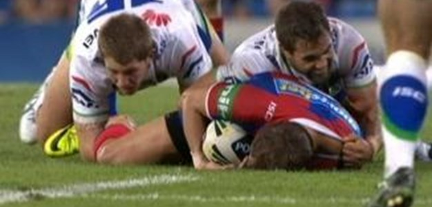 Full Match Replay: Newcastle Knights v Canberra Raiders (2nd Half) - Round 2, 2014