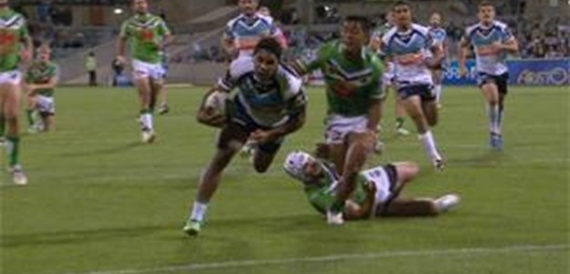 Full Match Replay: Canberra Raiders v Gold Coast Titans (2nd Half) - Round 3, 2014