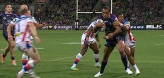 Full Match Replay: Melbourne Storm v Newcastle Knights (1st Half) - Round 3, 2014
