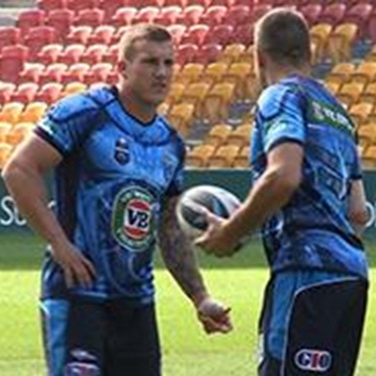 NSW hold final training session