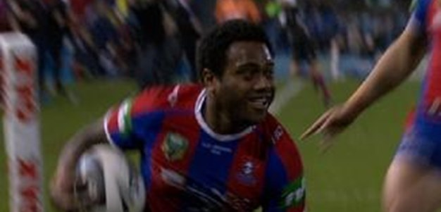 Full Match Replay: Newcastle Knights v Melbourne Storm (2nd Half) - Round 22, 2014