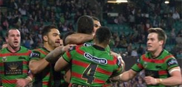 Full Match Replay: South Sydney Rabbitohs v Manly-Warringah Sea Eagles (1st Half) - Round 22, 2014