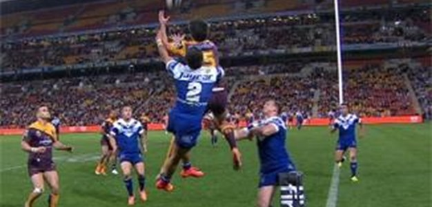 Full Match Replay: Brisbane Broncos v Canterbury-Bankstown Bulldogs (1st Half) - Round 22, 2014