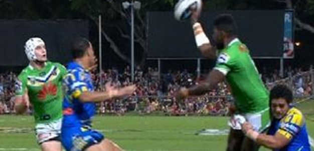 Full Match Replay: Parramatta Eels v Canberra Raiders (1st Half) - Round 22, 2014