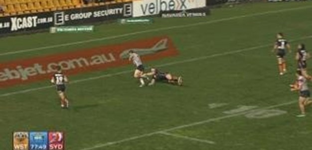 Rd 23: TRY Mitchell Pearce (78th min)