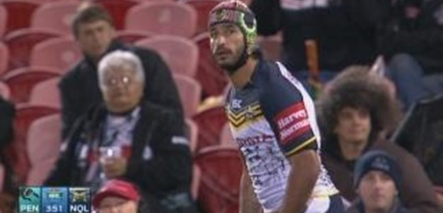 Rd 23: GOAL Johnathan Thurston (4th min)