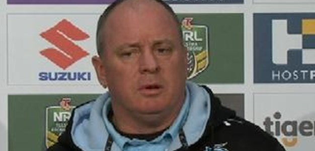 Rd 23 Press Conference: Sharks