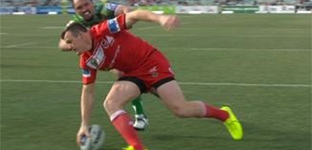 Full Match Replay: Canberra Raiders v St George-Illawarra Dragons (1st Half) - Round 23, 2014