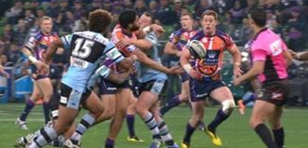 Full Match Replay: Melbourne Storm v Cronulla-Sutherland Sharks (2nd Half) - Round 23, 2014