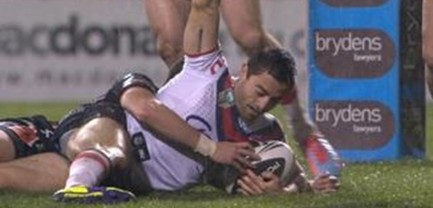 Full Match Replay: Wests Tigers v Sydney Roosters (2nd Half) - Round 23, 2014