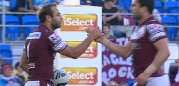 Full Match Replay: Gold Coast Titans v Manly-Warringah Sea Eagles (2nd Half) - Round 23, 2014